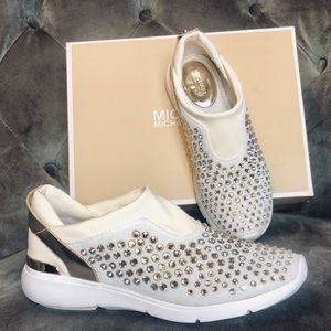 New MICHAEL Michael Kors Woman Diamond Shoes